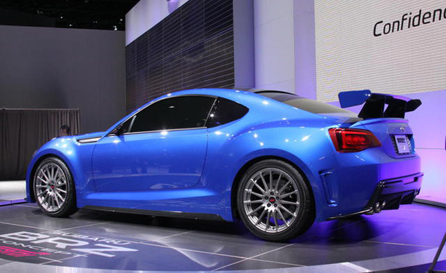 Subaru BRZ STi Might be Ready Next Year
