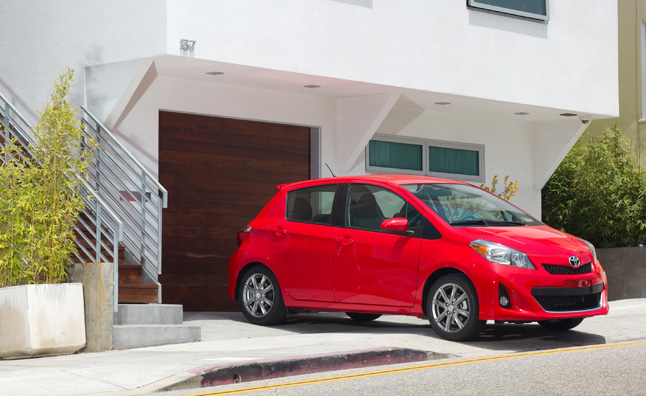 2013 Toyota Yaris Gets Upgraded Standard Equipment