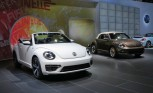 Volkswagen Beetle Goes Topless at LA Auto Show