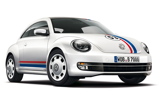 Volkswagen Beetle 'Herbie' Tribute Car Heading to Spain
