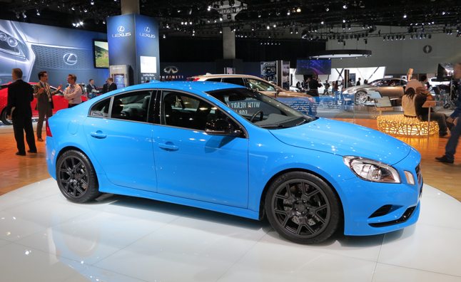 Volvo S60 Polestar Concept is a Swedish Sports Car: 2012 LA Auto Show