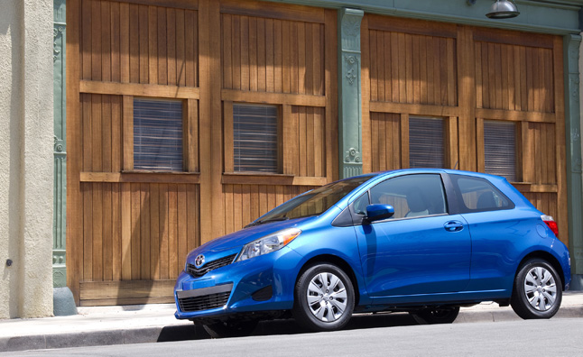 Five-Point Inspection: 2012 Toyota Yaris LE