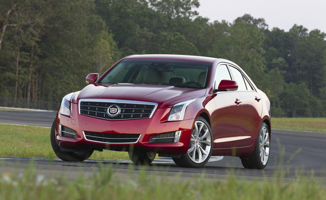 Cadillac ATS Earns Five-Star NHTSA Safety Rating