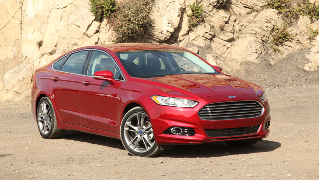 2013 Ford Fusion Named IIHS 'Top Safety Pick Plus'