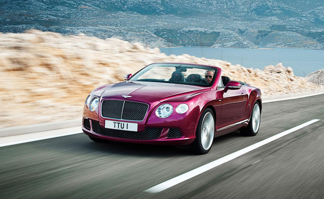 Bentley Continental GT Speed Convertible Leaked: 2013 Detroit Auto Show Preview