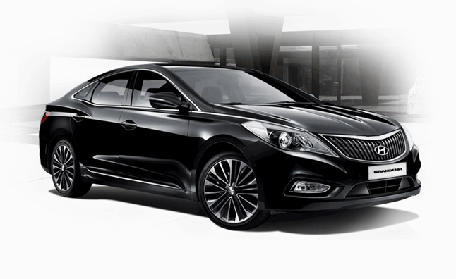 2013 Hyundai Grandeur (Azera) Gets Mild Refresh in Korea