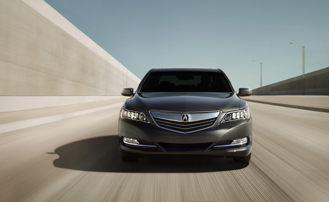 2014 Acura RLX Sourcing Infotainment from Agero