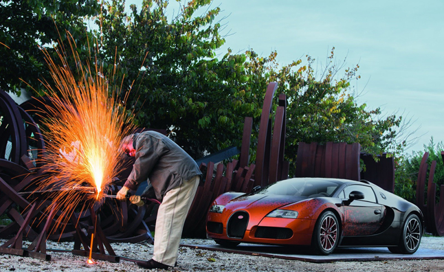Bugatti Veyron Grand Sport Venet is Fast Piece of Art