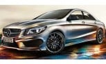 Mercedes-Benz CLA Photos Leak Before Detroit Debut