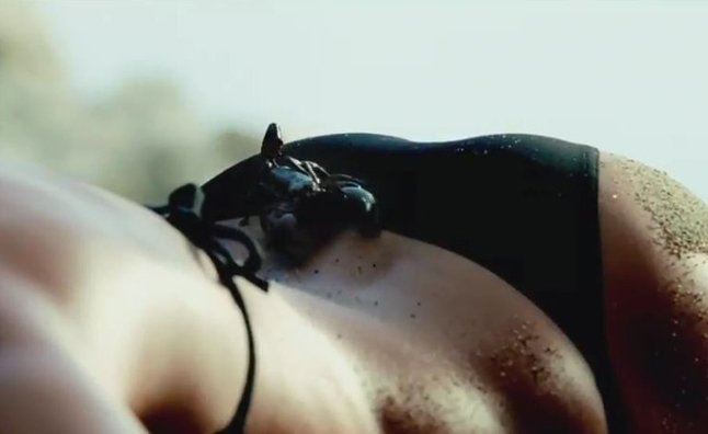 Catrinel Menghia Goes Topless in new Fiat 500 Abarth Cabrio Commercial