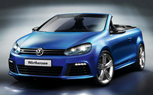 Volkswagen Golf R Cabriolet Previewed Ahead of Geneva Motor Show Debut – Video
