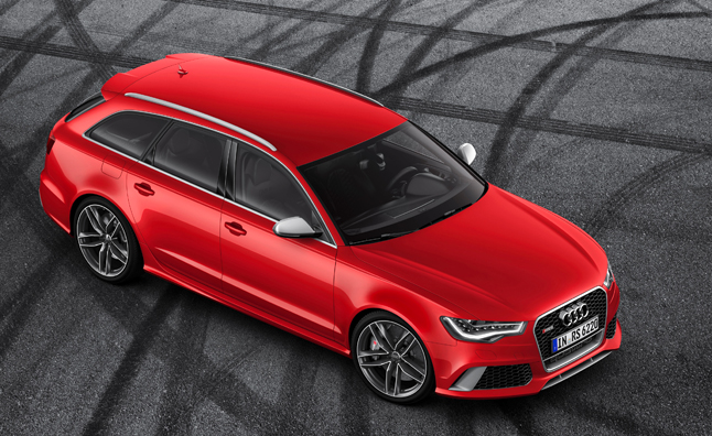 Audi RS 6 Avant is a 560 HP Grocery Getter