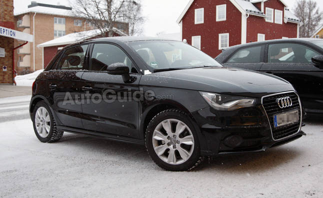 Audi S1 Prototype Spied in the Snow Without Camo