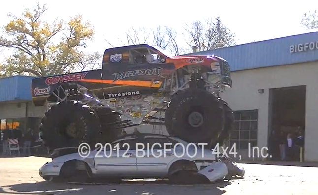 World's First Electric Monster Truck a Quiet Riot