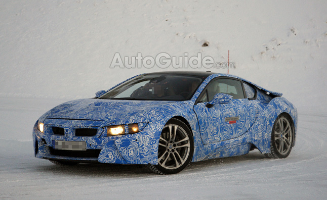 BMW i8 Prototype Close to Concept Spied Testing