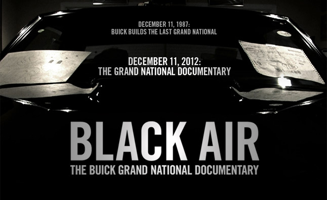 Buick Grand National Documentary 'Black Air' Hits Shelves