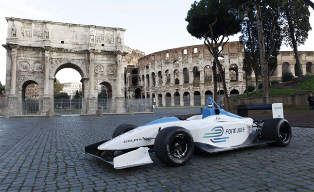 FIA Formula E Championship to Compete on Streets of Rome
