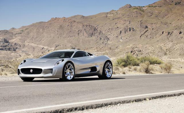 Jaguar C-X75 Powertrains Enters Crucial Development Phase