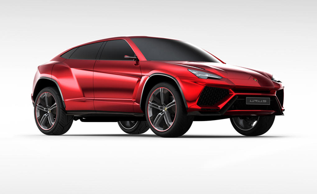 Lamborghini Urus SUV Won't Arrive Until 2017: CEO
