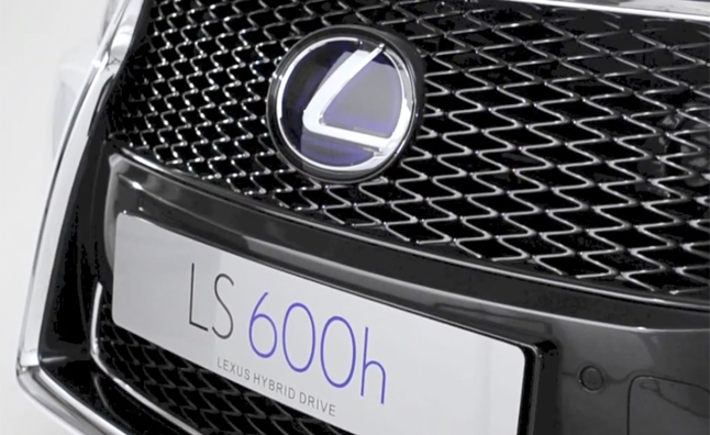 Lexus LS600h Shown in Detail – Video