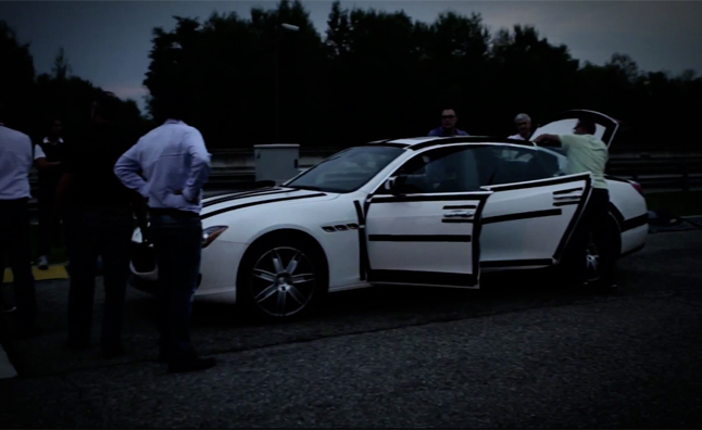 2013 Maserati Quattroporte Goes Late Night Testing – Video