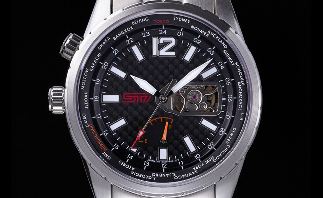 Subaru STI Mechanical Watch Announced, Limited to 300 Units