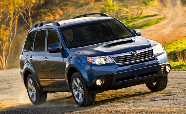 Subaru Recalling Four Models For Fire Risk