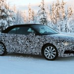 Audi S3 Convertible Caught Testing in Spy Photos