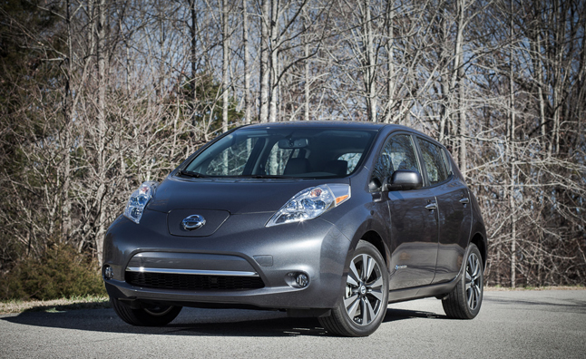 2013 Nissan Leaf Revealed with Improved Efficiency