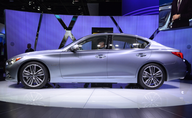 Infiniti Confirms Turbo Four-Cylinder, Diesel for Future