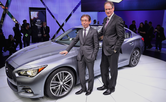2014 Infiniti Q50 Revealed With Hybrid Option: 2013 Detroit Auto Show