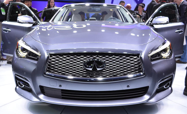 2014 Infiniti Q50 Video, First Look: 2013 Detroit Auto Show