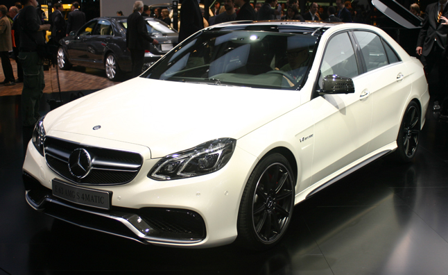 2014 Mercedes E63 AMG Delivers 577-HP Blast at 2013 Detroit Auto Show