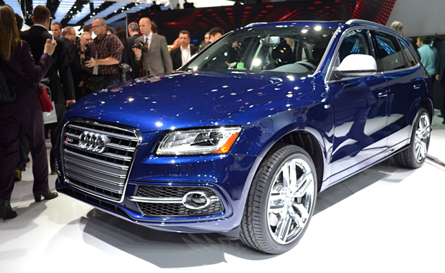2014 Audi SQ5 Spices up Small Crossovers: 2013 Detroit Auto Show
