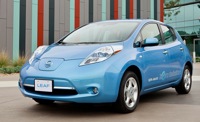 Nissan Leaf US Production Behind Schedule