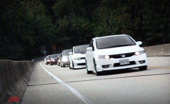 Honda Civic Fans Unite at Tail of the Dragon  Video