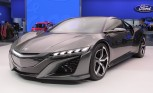 Acura NSX Concept II Video, First Look: 2013 Detroit Auto Show