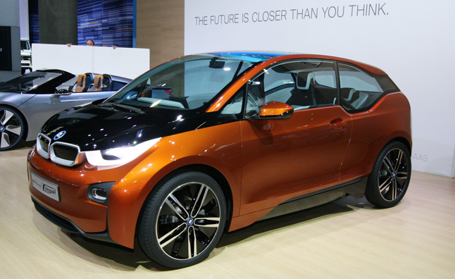 BMW i3 to Have Motorcycle Engine Option for Extended Range