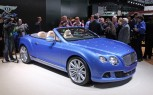 Bentley Continental GT Speed Convertible is a Blue Blooded Beauty: 2013 Detroit Auto Show
