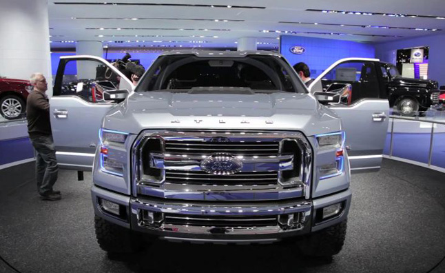 Ford Atlas Concept Video, First Look: 2013 Detroit Auto Show