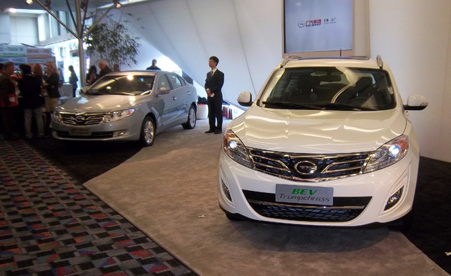 GAC Group Leading Chinese Charge at Detroit Auto Show