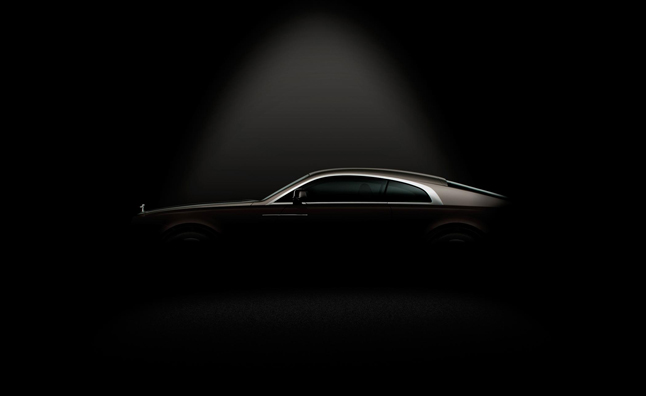 Rolls-Royce Wraith Teased a Second Time