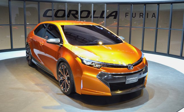 2014 Toyota Corolla Previewed in Furia Concept: 2013 Detroit Auto Show