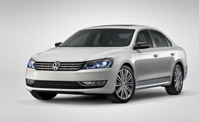Volkswagen Passat Performance Concept Revealed Before 2013 Detroit Auto Show