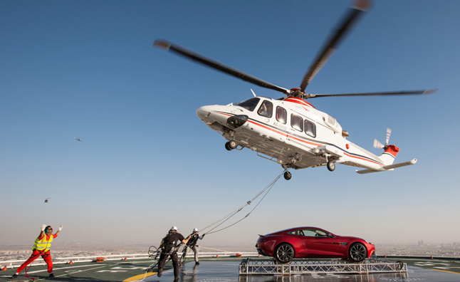 Aston Martin Celebrates Centenary in Dubai with Style