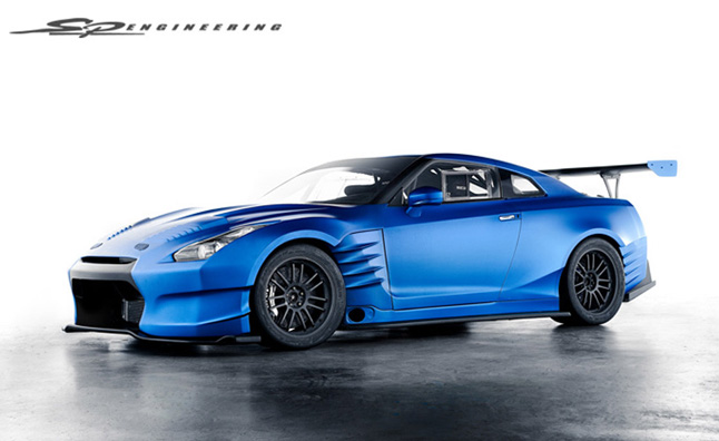 Fast and Furious 6 Nissan GT-R Revealed