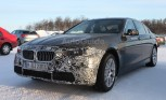 BMW 5-Series Plug-in Hybrid Spied Testing