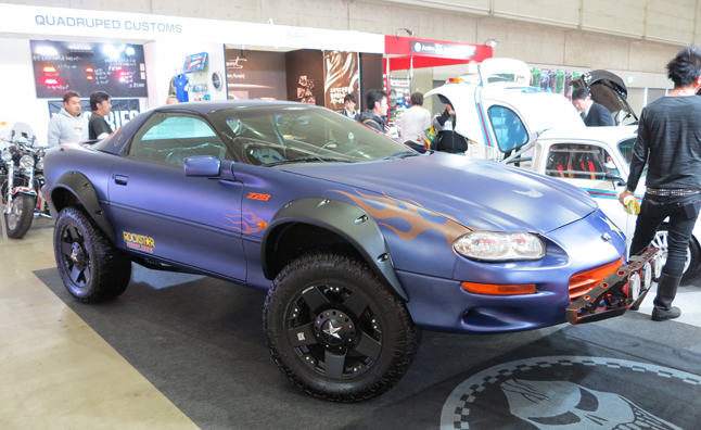The Strangest Cars of the 2013 Tokyo Auto Salon: Mega Gallery