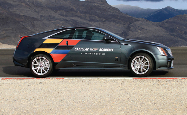 Cadillac V-Series Academy is a 556-HP Driving School