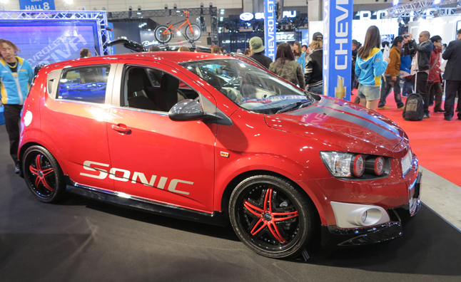 Chevrolet Gets an E for Effort at the Tokyo Auto Salon